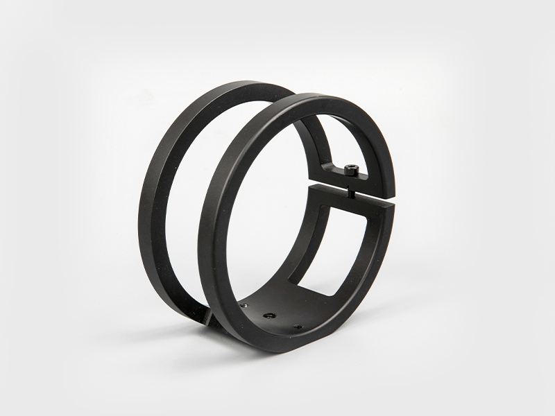 Placa de montaje de cola de milano Guide Star + anillos de tubo para telescopio tipo corto